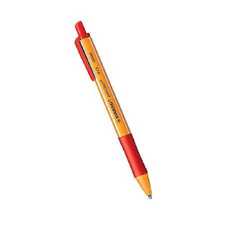 Caneta Esferográfica Pointball Vermelho-Stabilo