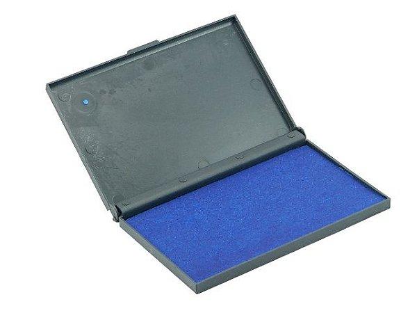 Almofada Carimbo N.4 Azul Recarregavel Unidade 173 - Carbrink