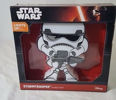 Mini Luminária Stormtrooper - Star Wars