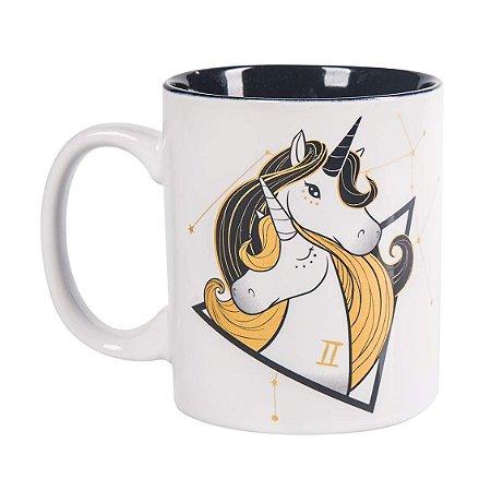 Caneca Signos Unicornio Gemeos - Uatt