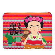 Necessaire Flat Frida - Me Encanta Que Te Encante