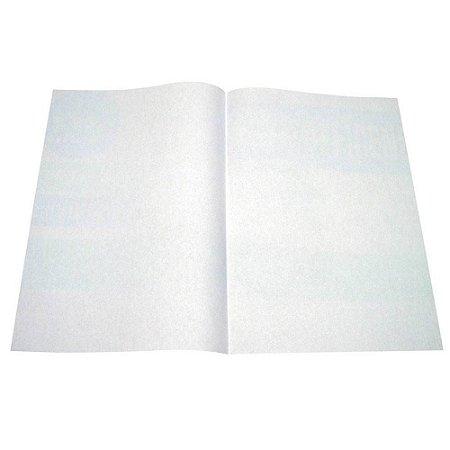 Papel Almaço Sem Pauta - Pauta Branca