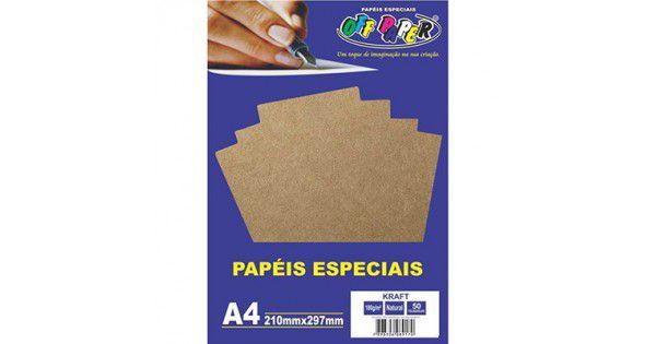 Papel Kraft Natural A4 180g - Off Paper