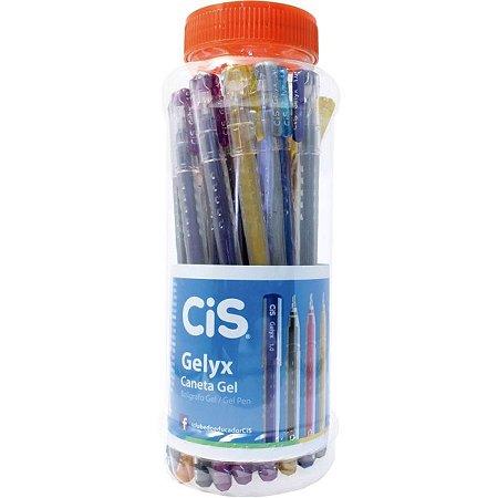 Caneta Gelyx  1,0 Lilás - Cis