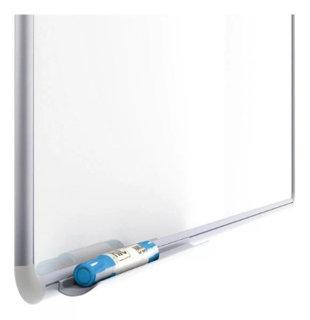 Quadro Branco Moldura Aluminio Free 90x60cm  - Stalo