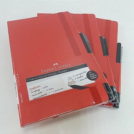 Caderneta Creative Journal Pautado - Faber-Castell