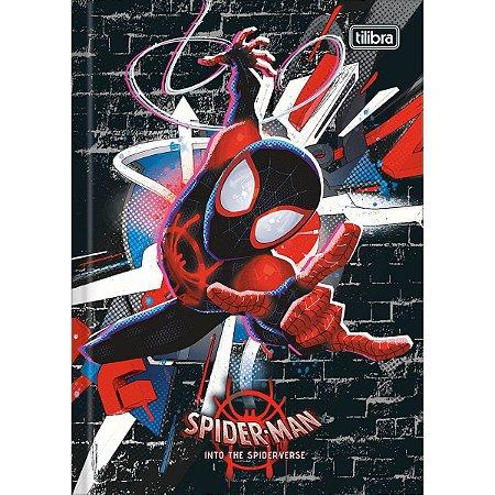 Caderno Brochura 1/4 Spider Man 96F - Tilibra