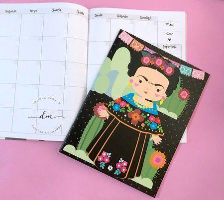 Planner Mensal Frida - Me encanta que te encante