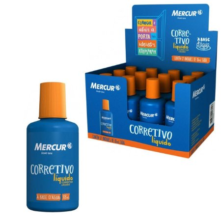 Corretivo Liquido 18ml - Mercur