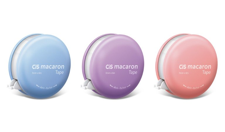 Macaron Fita Corretiva 5mmx6m - Cis