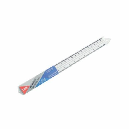 Escalimetro Tris Metal Plus 30cm Un