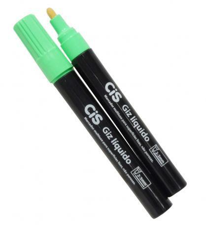 Giz Liquido Verde - Cis