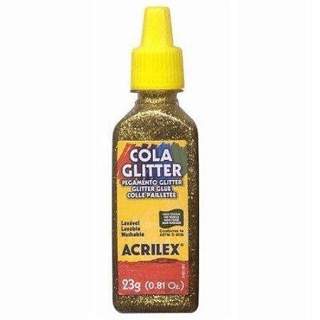 Cola Glitter Ouro - Acrilex