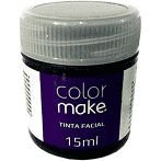 Pintura Facial Liquida 15ml Preto - Colormake