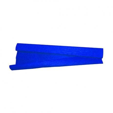 Papel Crepom Azul Escuro 48x200 - Vmp