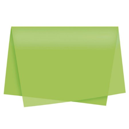 Papel Seda 49x69 Auto Verde Pistache-Cromus
