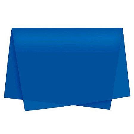 Papel Seda Auto Azul Royal 49x69 - Cromus