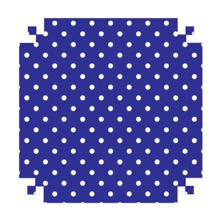 Colorset Azul/Bolinha 48x66 - Vmp