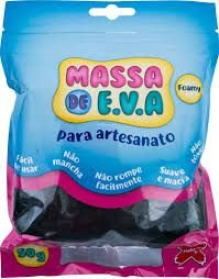 Massa De Eva Preto 50g - Make+