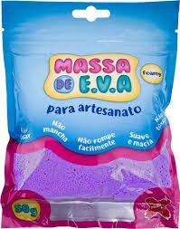 Massa De Eva Roxo 50g - Make+