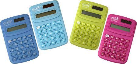 Calculadora Pequena 8 Digitos - Classe