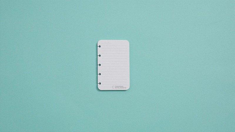 Refil Pautado Inteligine 120g 50 Folhas - Caderno inteligente