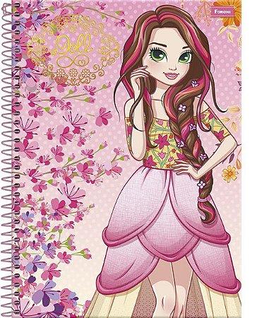 Caderno Doll 1M - Foroni