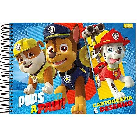 Caderno Pedagógico Caligrafia Patrulha Canina - Foroni