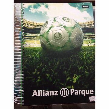 Caderno Espiral Palmeiras - Foroni