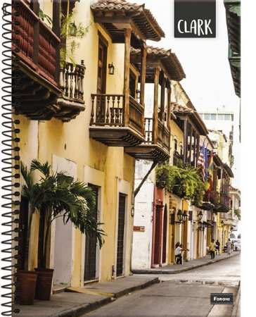 Caderno Universitário Clark - Foroni