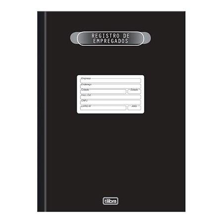 Livro Registro Empregado 50Fls - Tilibra