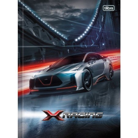 Caderno Brochurão X-Racing 96F - Tilibra
