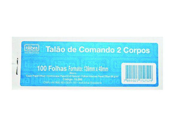 Comando 2 Corpos 100 Folhas - Tilibra