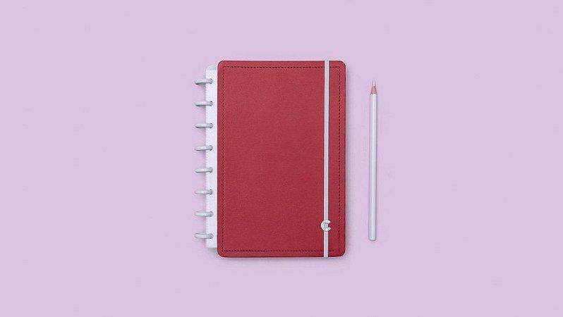 Caderno Vermelho Cereja  A5 - Caderno inteligente
