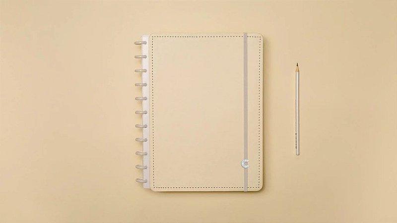 Caderno Amarelo Pastel  Inteligine - Caderno inteligente