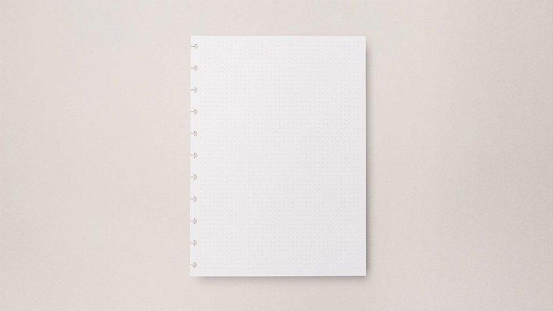 Refil Grande Folhas Pontilhado 120g - Caderno Inteligente