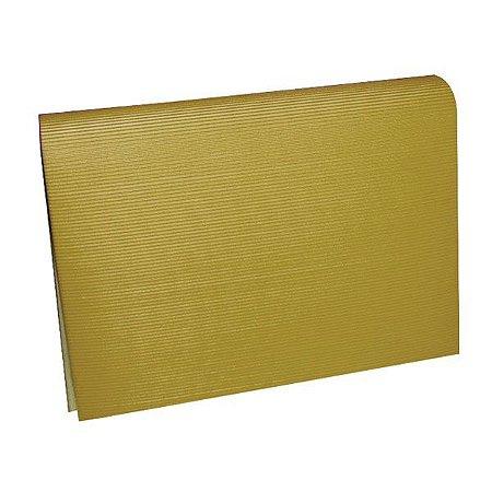 Papel Micro ondulado Ouro 50x80 - Vmp