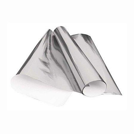 Papel Laminado 48x60 Prata
