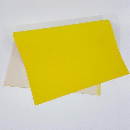 Papel Camurça Amarelo 40x60 - Vmp