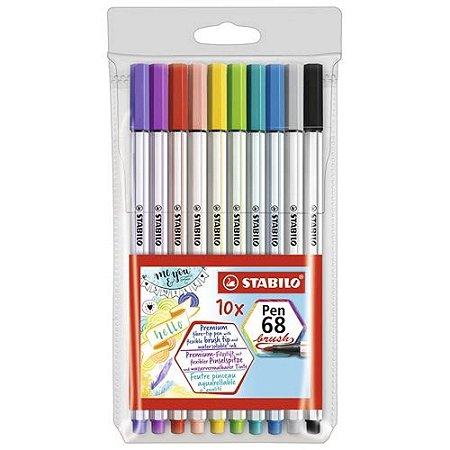 Kit Pen 68 Brush est 10 -Stabilo