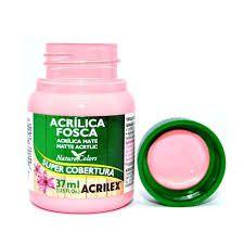 Acrílica Fosca Rosa Escuro 37ml - Acrilex