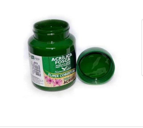 Acrílica Fosca Verde Grama 37ml - Acrilex