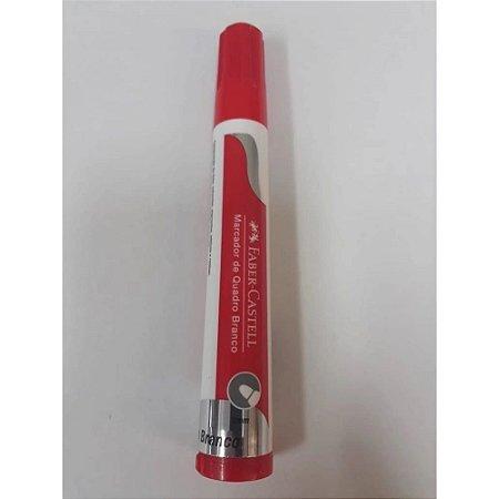 Marcador De Quadro Branco Vermelho - Faber-Castell