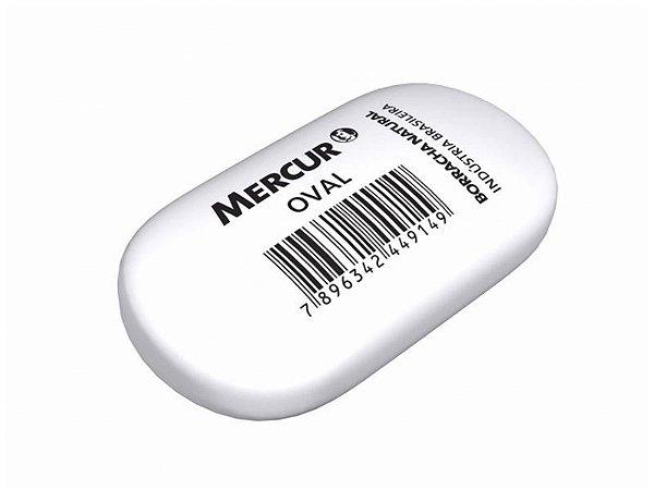 Borracha Branca Oval - Mercur