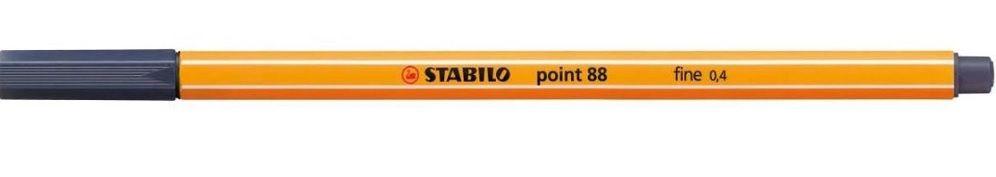 Caneta Point 88/98  Fine 0,4mm Azul Cobalto-Stabilo