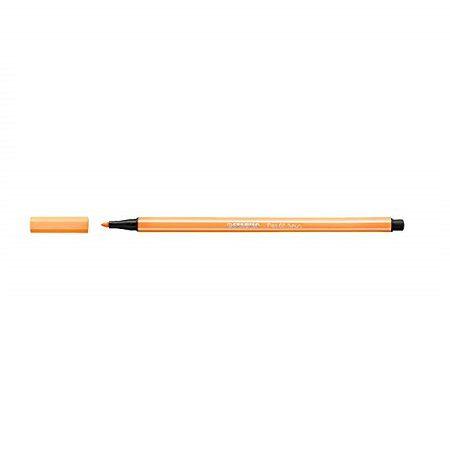 Caneta Pen 68/054 Laranja Neon - Stabilo