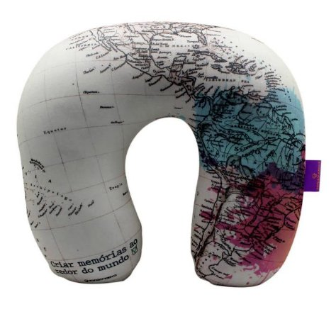 Almofada Pescoço Microperolas Criar Memórias - Zona Criativa