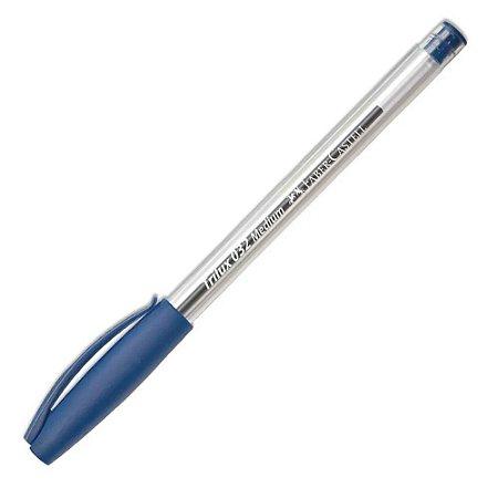 Caneta Esferográfica Trilux 032 Media Azul - Faber-Castell