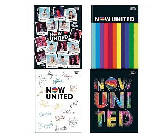 Caderno Brochura Now United 1 Matéria - Tilibra