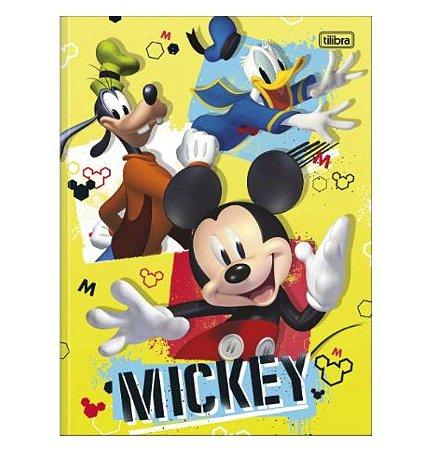 Caderno Universitário Brochura Mickey 80 Folhas - Tilibra